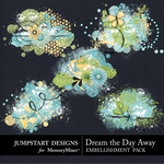 Dream the Day Away Scatters-$2.49 (Jumpstart Designs)