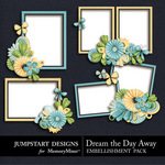 Dream the Day Away Clusters-$2.49 (Jumpstart Designs)