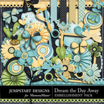 Dream the Day Away Embellishment Pack-$2.99 (Jumpstart Designs)