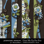 Gear Me Up For Fun Borders-$2.49 (Jumpstart Designs)