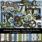 Gear Me Up For Fun Combo Pack-$7.99 (Jumpstart Designs)