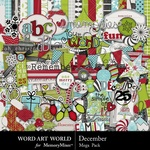 December Mega Pack-$3.50 (Word Art World)