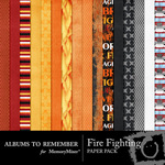 Fire Fighting Paper Pack-$3.00 (Albums to Remember)