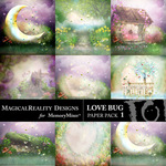 Love Bug Paper Pack 1-$3.99 (MagicalReality Designs)