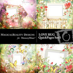 Love Bug Quick Pages Set 1-$3.49 (MagicalReality Designs)
