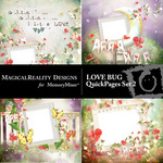 Love Bug Quick Pages Set 2-$3.49 (MagicalReality Designs)