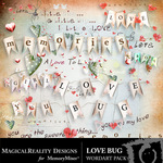 Love Bug Word Art-$2.49 (MagicalReality Designs)