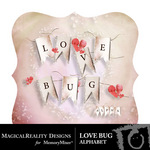 Love Bug Alphabet Pack-$1.25 (MagicalReality Designs)