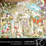 Love Bug Embellishment Pack-$2.99 (MagicalReality Designs)