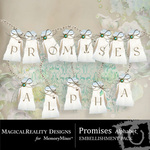Promises Alphabet Pack-$0.99 (MagicalReality Designs)