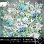 Promises Embellishment Pack-$3.49 (MagicalReality Designs)