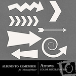 Arrows Color Mixers Inkers-$3.00 (Albums to Remember)