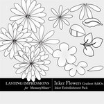 Inkers Flowers Gradient Add On Pack-$2.99 (Lasting Impressions)