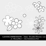 Inkers Doodled Flower Collection 1 Pack-$1.99 (Lasting Impressions)