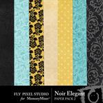 Noir Elegant Paper Pack 2-$3.49 (Fly Pixel Studio)