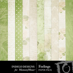 Feelings Paper Pack-$2.99 (Indigo Designs)