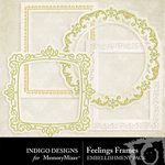 Feelings Frames-$1.99 (Indigo Designs)