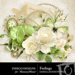 Feelings Embellishment Pack-$2.99 (Indigo Designs)