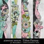 Urban Fantasy Borders-$2.49 (Jumpstart Designs)