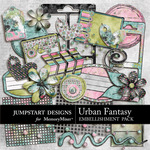 Urban Fantasy ADD ON Embellishment Pack-$2.99 (Jumpstart Designs)