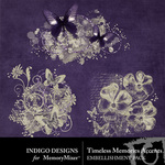 Timeless Memories Accents-$1.99 (Indigo Designs)