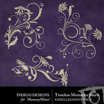 Timeless Memories Swirls-$1.99 (Indigo Designs)