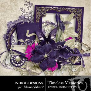 Timelessmemories embellishment medium