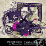 Timeless Memories Embellishment Pack-$2.99 (Indigo Designs)