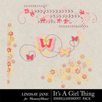 Its A Girl Thing Scatterz-$1.99 (Lindsay Jane)