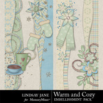 Warm and Cozy Borders-$1.99 (Lindsay Jane)