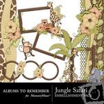 Jungle Safari Clusters-$1.99 (Albums to Remember)
