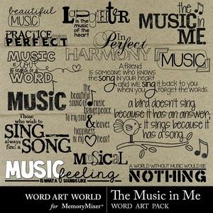The music in me medium