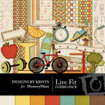 Live Fit Combo Pack-$4.49 (Designs by Krista)