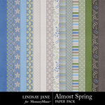 Almost Spring Paper Pack-$3.49 (Lindsay Jane)