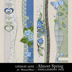 Almost Spring Borders-$1.99 (Lindsay Jane)