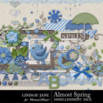 Almost Spring Embellishment Pack-$3.49 (Lindsay Jane)