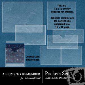 Pockets set 1 medium