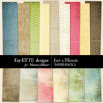 Just a Minute Paper Pack 2-$2.99 (Ettes and Company by Fayette)