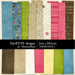 Just a Minute Paper Pack 1-$2.99 (Ettes and Company by Fayette)