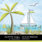 Ocean Breeze Mini Pack-$1.75 (Fayette Designs)