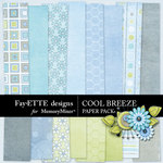 Cool Breeze Paper Pack-$3.99 (Fayette Designs)