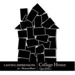 Collage House-$1.99 (Lasting Impressions)