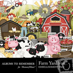 Farm Yard Fun Embellishment Pack-$1.50 (Albums to Remember)