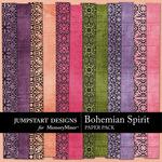 Bohemian Spirit FREE Paper Pack-$0.00 (Jumpstart Designs)