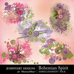 Bohemian Spirit Scatters-$2.99 (Jumpstart Designs)