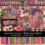 Bohemian Spirit Combo Pack-$7.99 (Jumpstart Designs)