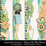 Heart On My Sleeve Borders-$2.99 (Jumpstart Designs)