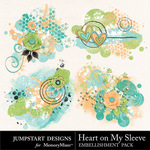 Heart On My Sleeve Scatters-$1.25 (Jumpstart Designs)