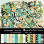 Heart On My Sleeve Combo Pack-$7.99 (Jumpstart Designs)