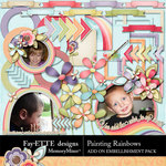 Painting Rainbows Add On-$2.99 (Ettes and Company by Fayette)